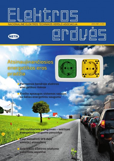 ELEKTROS ERDVĖS - Nr. 35/2014